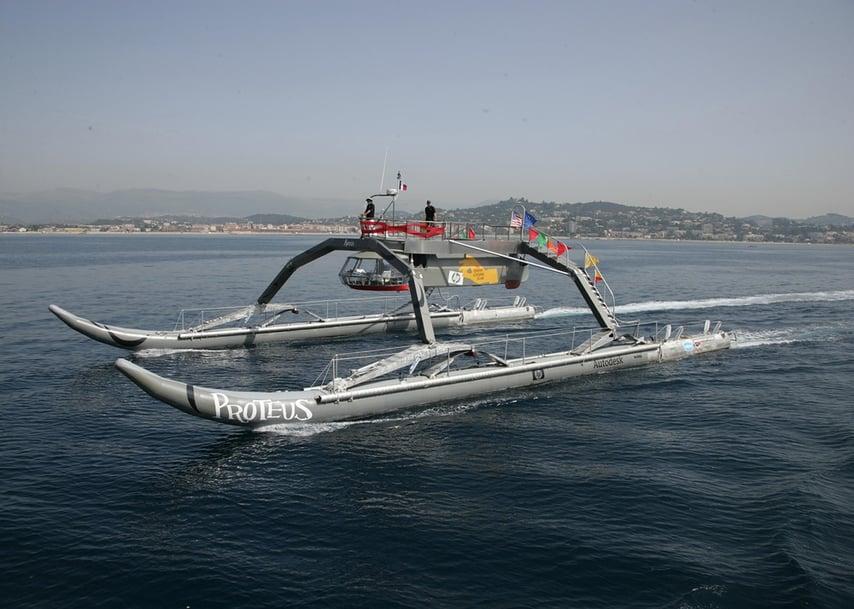 WAM-V Boat