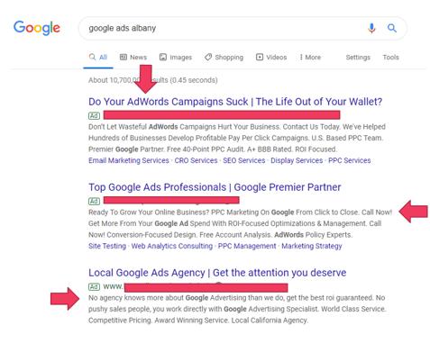Google Ads Albanu