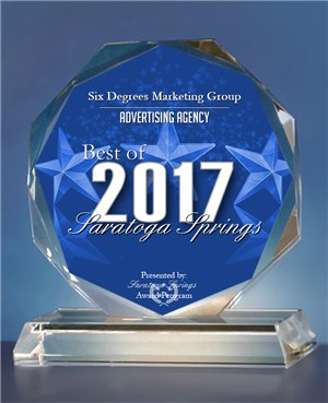 SIX Marketing Wins Marketing Award Crystal.jpg